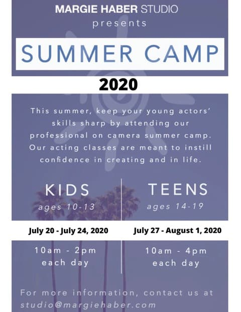 kids acting classes, teen acting classes los angeles